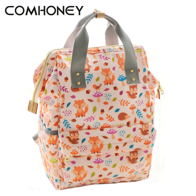 Baby Diaper Bag Anti Theft Fox Panda Stroller Care Woman Maternity Ny Bags Insulation