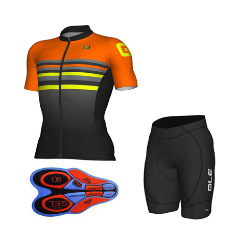 2018 Cool New Ale cycling jersey and Shorts set Quick Dry 9D pad Outdoor Pro Racing Team Cycling clothing for men men