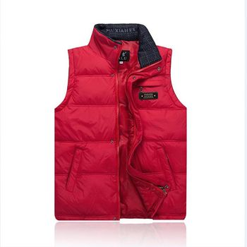Brieuces Middle-aged men fall and winter down vest male middle-aged father loaded thick warm waistcoat vest male vest big yards electric moxa knee pads autumn and winter to keep warm old cold legs men women moxibustion joint inflammation middle aged