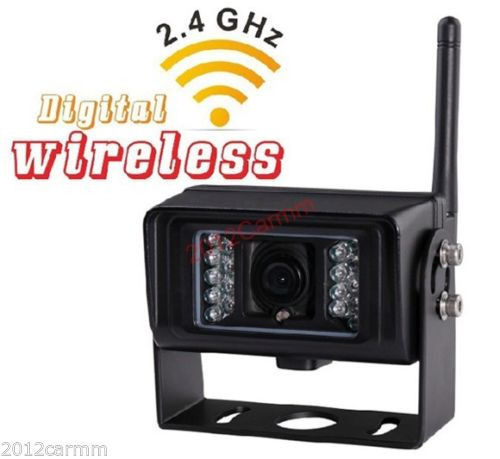 7 Tft Degital Wireless Rear View Backup Camera System Safe For
