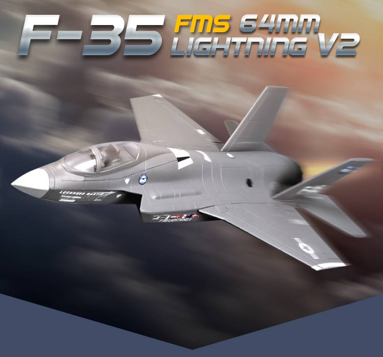 F-35 (EPO) V2 698mm RC Airplane Fixed Wing Aircraft Wingspan 64mm Ducted Jet Fighter Model  fms 1100mm p 51d light fighter old crows world war ii fixed wing rc aircraft