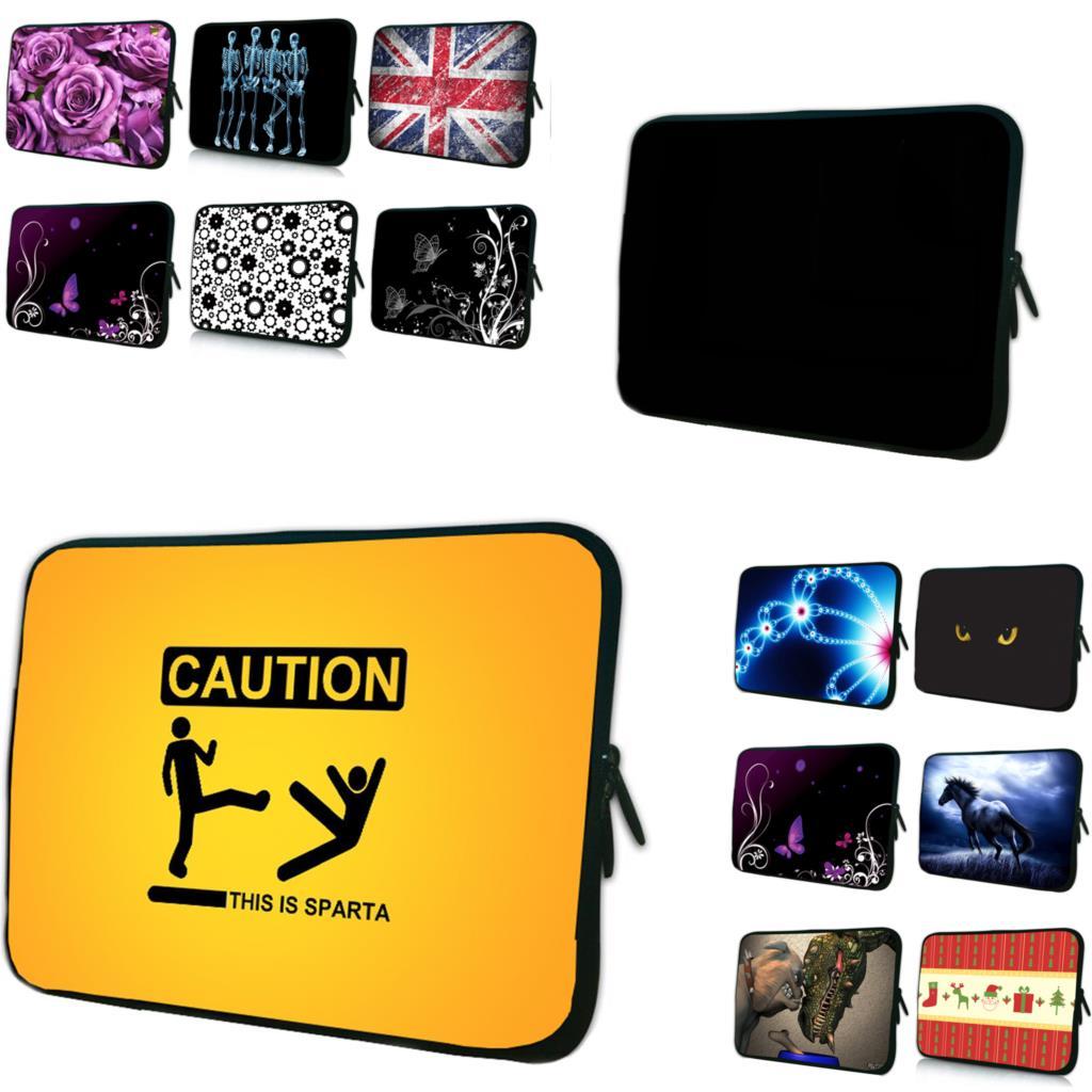 Neoprene Shockproof Laptop 7 10 12 13 14 15 17 Sleeve Bag Cover Portable Cases F