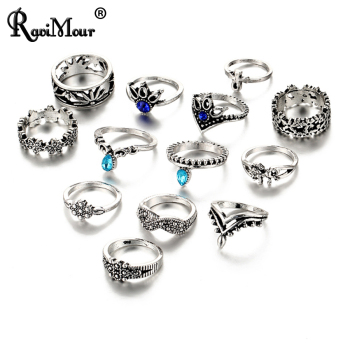 RAVIMOUR Womens Knuckle Rings 1