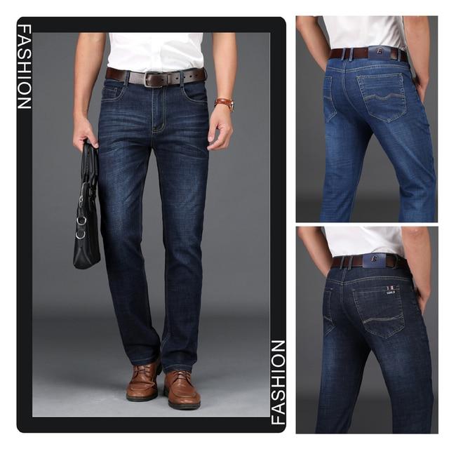 Men's Straight Cut Stretch Trousers 5