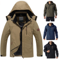 L~4XL New Spring/Autumn Mountain Casual Outerwear Coats Men's Windproof Waterproof jacket Brand Hooded Windbreaker Men CF006