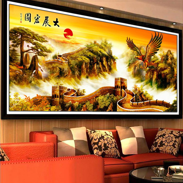 5D DIY Diamond Painting Full Cross Stitch Diamond Embroidery Grand ...