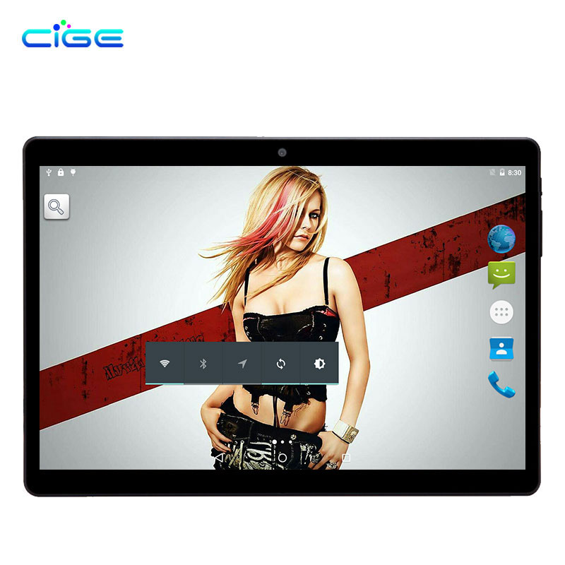 CIGE 10.1 Inch Phone Call Android Octa Core Tablet pc Android 8.0 4GB 64GB WiFi 4G External FM Bluetooth 4G+64G Tablets Pc 5MpCIGE 10.1 Inch Phone Call Android Octa Core Tablet pc Android 8.0 4GB 64GB WiFi 4G External FM Bluetooth 4G+64G Tablets Pc 5Mp