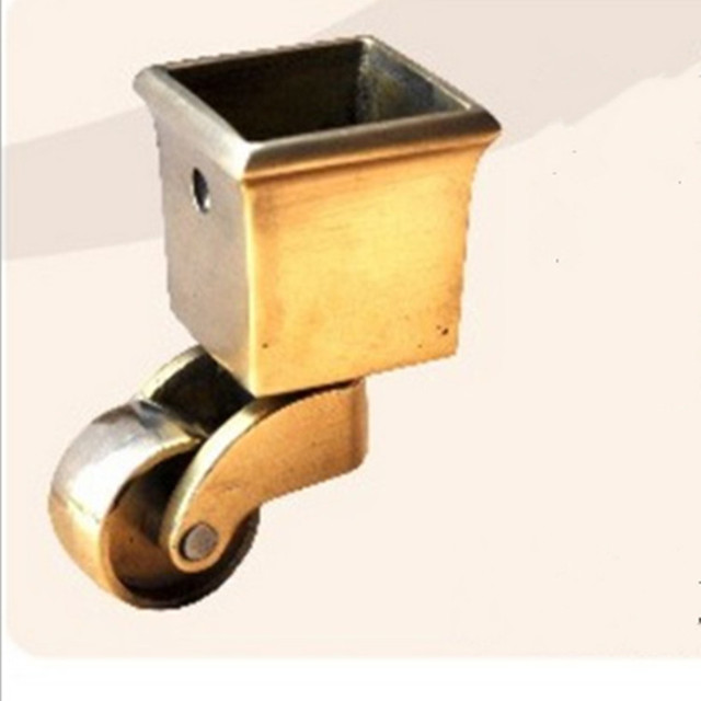 Piano Copper Caster Wheels / Metal Casters Small Furniture Casters Wheel For Furniture And Chair Wheel.