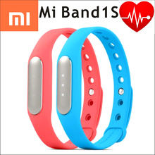 100% оригинал xiaomi mi группа 1 s импульсный miband фитнес tracker heart rate ip67 смарт bluetooth 4 браслет браслет сна монитора