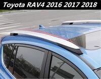 JIOYNG алюминиевого сплава на крышу автомобиля багаж камера бар для 16 17 18 для Toyota RAV4 2016 2017 2018 EMS