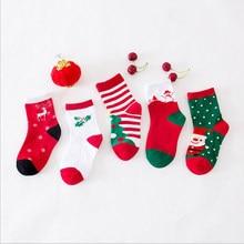 1 pairspack baby socks cotton christmas socks 2018 new year cheap stuff animal print boys girls children fashion toddler winter - Girl Stuff For Christmas