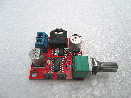MAX9812L + PAM8403 ( or PAM8406 ) Electret microphone amplifier board With volume adjustment