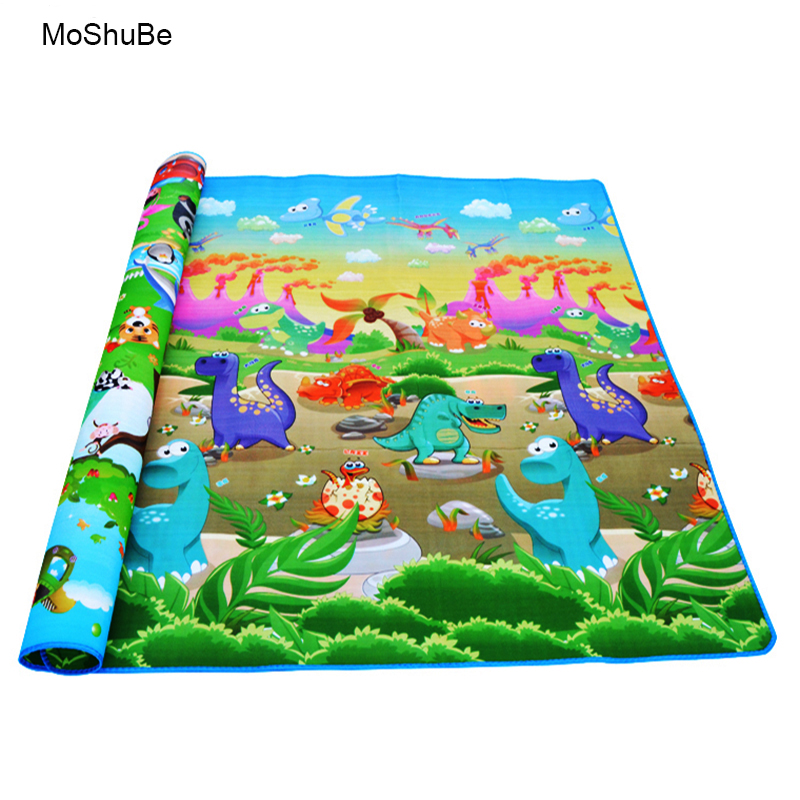 Toys Developing Mat Educational Puzzle Eva Foam Baby Play Mat Gift Activity Carpet Soft Floor Children's Rug Gym 0.5cm Thick Rug