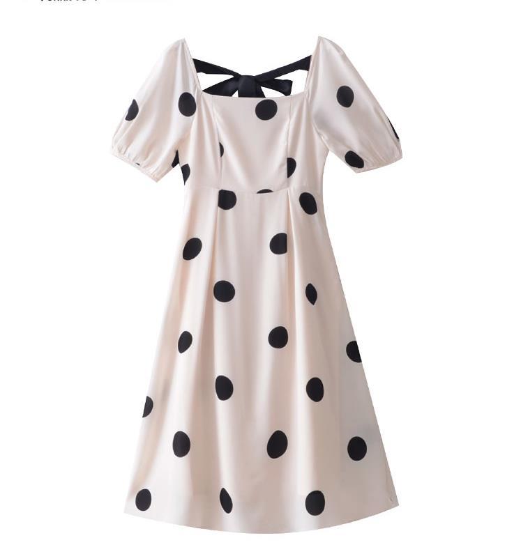 Kadın Giyim'ten Elbiseler'de Bir yeni 2019 yaz vintage Hepburn tarzı elbise'da  Grup 1