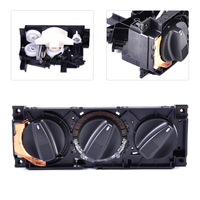 beler AC Air Heater Climate Control Switch Panel 1H0820045D for VW Golf 1992 1993 1994 1995 1996 1997 1998 1999 2002