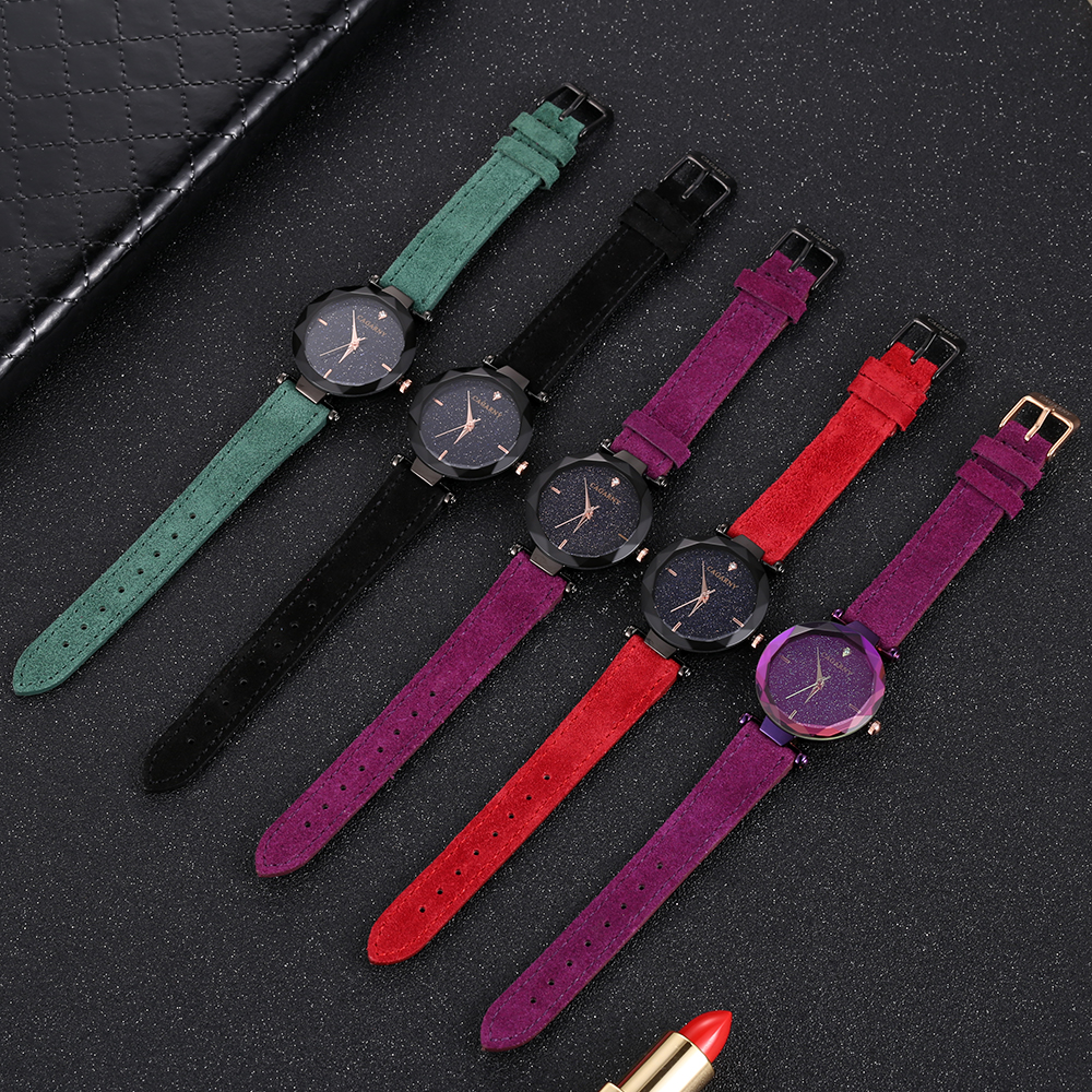 cagarny 2018 Leather Women Watches Ladies Luxury Brand Famous Wrist Watch Fashion Dress Female Clock Relogio Feminino Montre Femme (7)