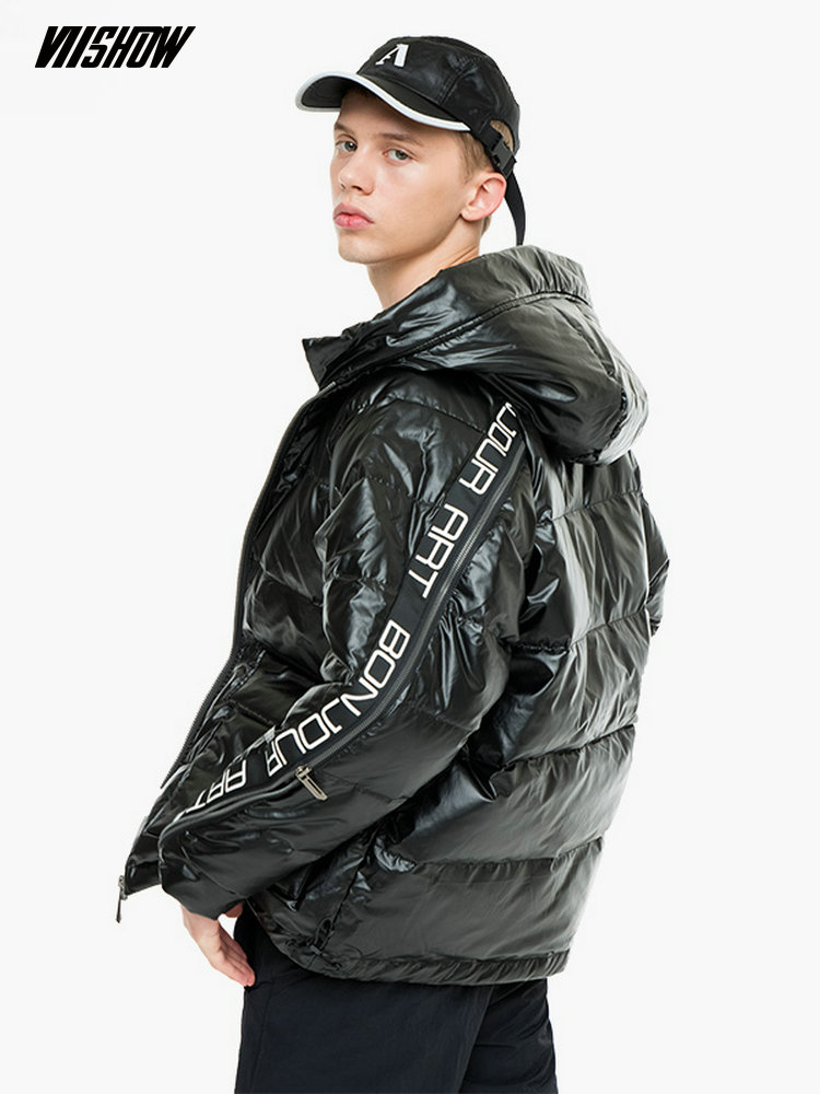 VIISHOW White Duck Men's   Down   Jacket Brand Winter Jacket For Men Doudoune Homme 2018 Solid Men's Winter Jacket   Coat   YC2457184