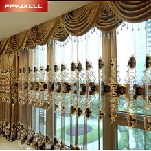 Embroidered Classical Window Curtains