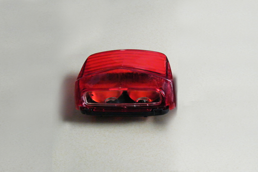 free shipping  ABS Red Tail light lamp For Hondaat CB400 V-TEC 1999-2003 99 00 01 02 03 [ZX10] free shipping abs red tail light lamp