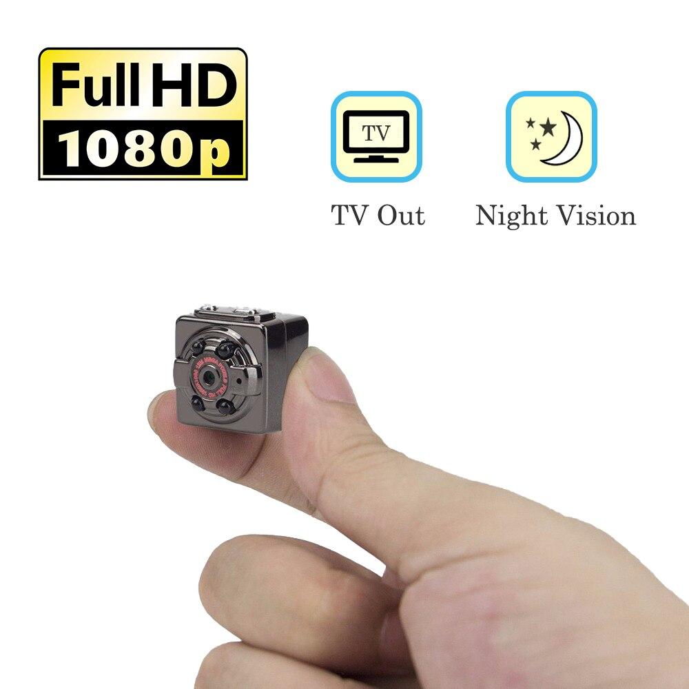 Mini Sport DVR Camera HD Action Video Camcorder 1080P Micro Secret Camera infrared Night Vision Motion Detect Surveillance Cam