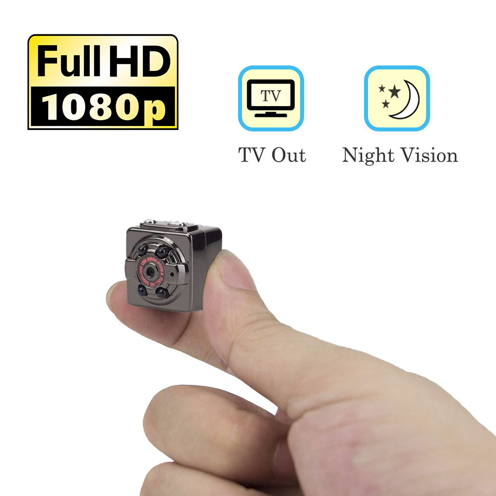 Mini Sport DVR Camera HD Action Video Camcorder 1080P Micro Secret Camera infrared Night Vision Motion Detect Surveillance Cam