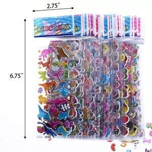 Image 3 - ילדים מדבקות 1200 +, 40 גיליונות שונים, 3D נפוח מדבקות לילדים, בתפזורת מדבקות לילדה ילד יום הולדת מתנה, רעיונות