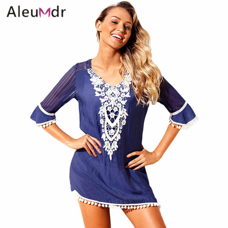 5d281343e8020 ... Aleumdr Women Summer Swimwear black Beach Wear Crochet bathing suit  Swim suit Swimwear LC42231 summer hot ...
