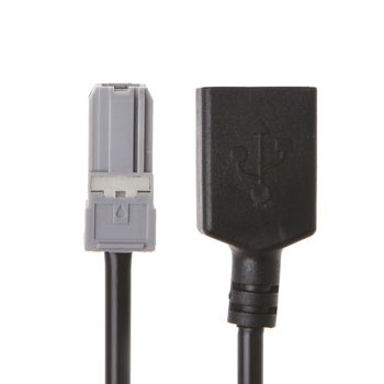 1 Pc Auto Car Aux Audio Media Wire To USB Adapter Conector For Toyota RAV4 EZ Verso Camry image
