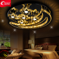 warm romantic LED crystal lamp bedroom ceiling dome light personalized restaurant lamp light