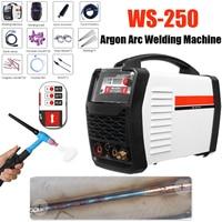 220 В 250A светодио дный цифровой аргона инвертор сварочный аппарат Arc WS 250 MOS TIG MMA W Старший для сварки