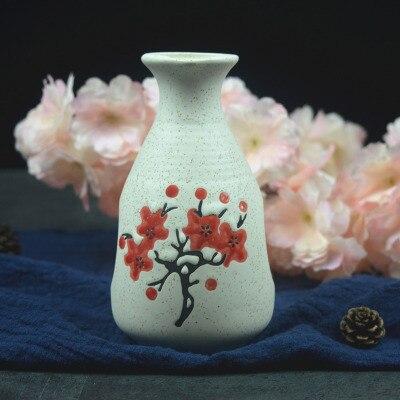 Японский ликер горшок Ретро керамика теплые емкость для ликера дистрибьютор бытовой маленькие белые вина флакон китайский barware Сакура - Цвет: 1