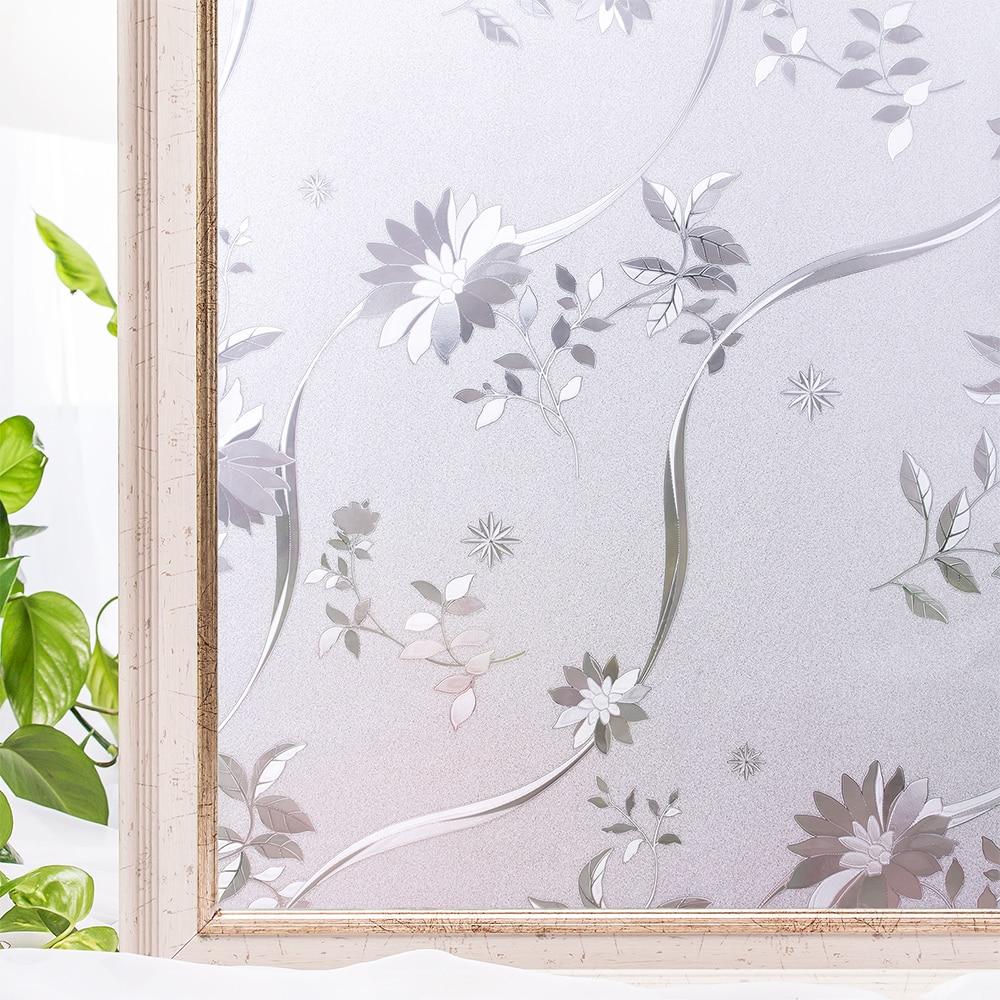 Sticker, Window, Privacy, Flower, Static, Decorative