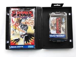 Image 3 - MD Spel: COMIX ZONE (Japan Versie!! Doos + handleiding + cartridge!!)