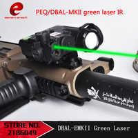 Element Airsoft-linterna láser IR verde, DBAL-EMKII LED multifunción, táctica, batería de DBAL-D2, DBAL EMKII EX454