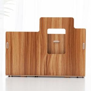 Image 4 - Holz Schreibtisch Veranstalter Büro Bureau Stift Halter Holz Sorter mit Schublade Organizer Stift Bleistift Veranstalter