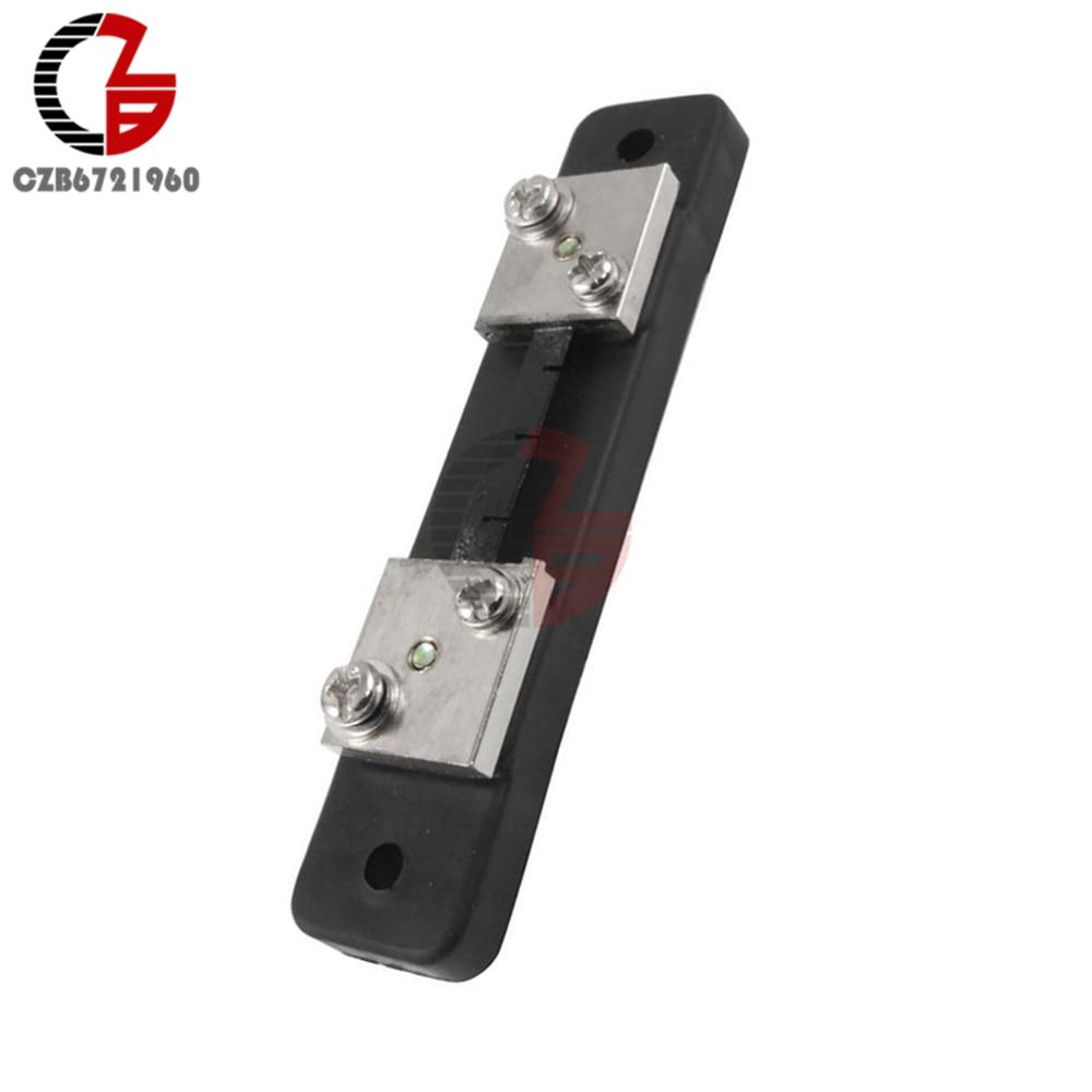 Ammeter Panel Meter DC 75mV Current Shunt Resistor 50//100A BSG