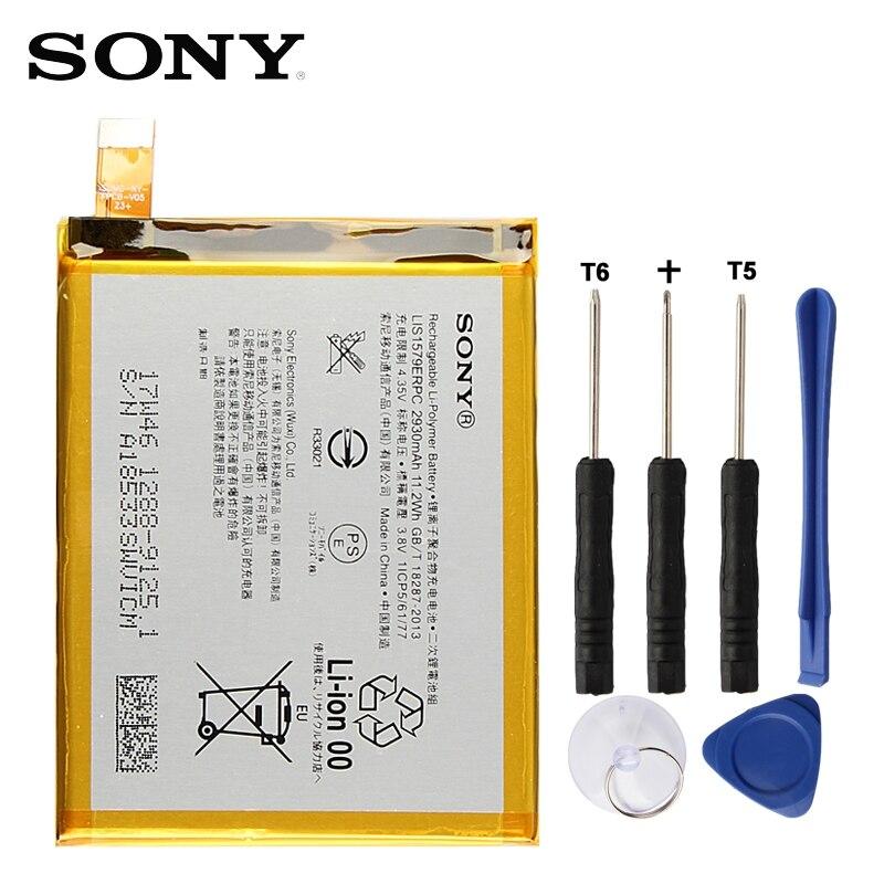 Original Ersatz Sony Batterie Für SONY Xperia C5 Ultra E5553 Z3 + Z4 LIS1579ERPC Echtem Telefon Batterie 2930 mah