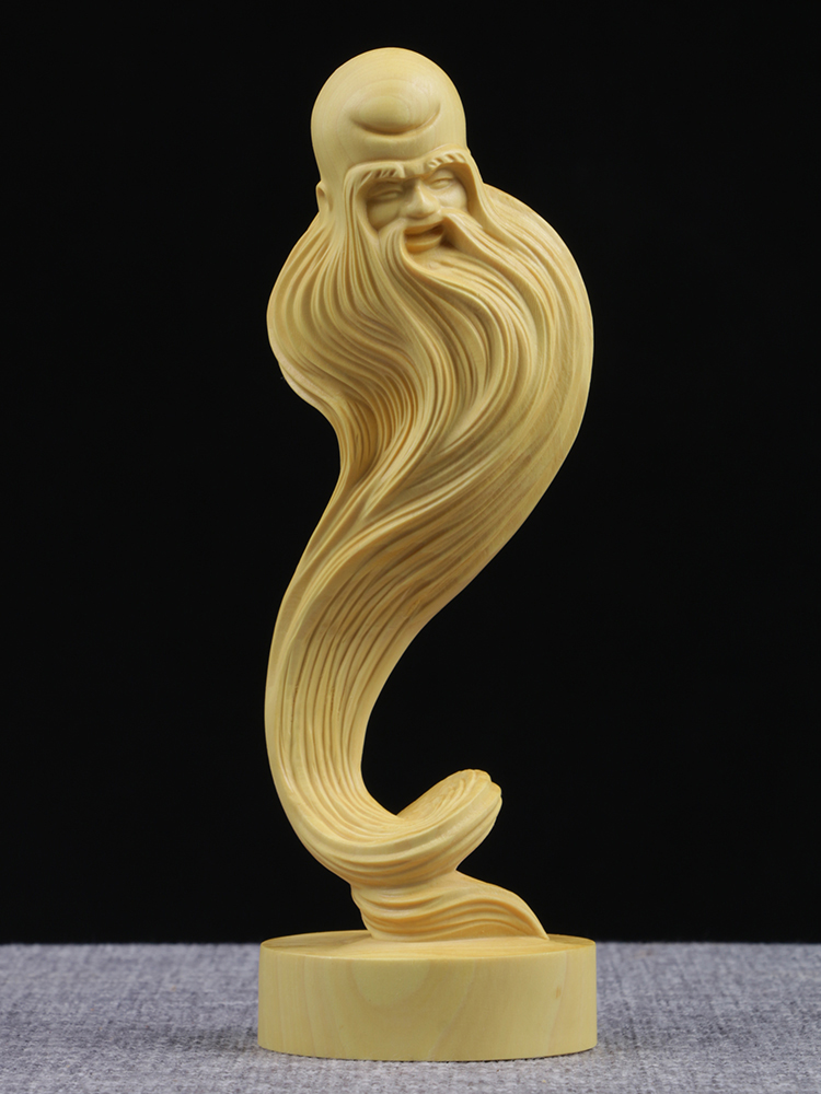 Statuette Home Buxus microphylla Home decoration wood carving wood carving ornaments handmade birthday gift of longevityStatuette Home Buxus microphylla Home decoration wood carving wood carving ornaments handmade birthday gift of longevity