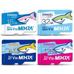 MIXZA HY Memory Card 256GB 128GB 64GB U3 80MB/S 32GB Micro sd card Class10 UHS-1 flash card Memory Microsd TF/SD Cards