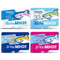 MIXZA HY Scheda di Memoria 256GB 128GB 64GB U3 80 MB/S 32GB Micro carta di deviazione standard di Class10 UHS-1 flash card di Memoria Microsd TF/SD card