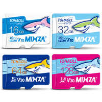 MIXZA HY carte mémoire 256 go 128 go 64 go U3 80 mo/s 32 go carte Micro sd Class10 UHS-1 carte flash mémoire Microsd TF/SD cartes