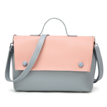 купить suonayi 2017 new trend women handbags, fashion simple flap, retro Korean version shoulder bag, chain woman messenger bag по цене 1615.25 рублей