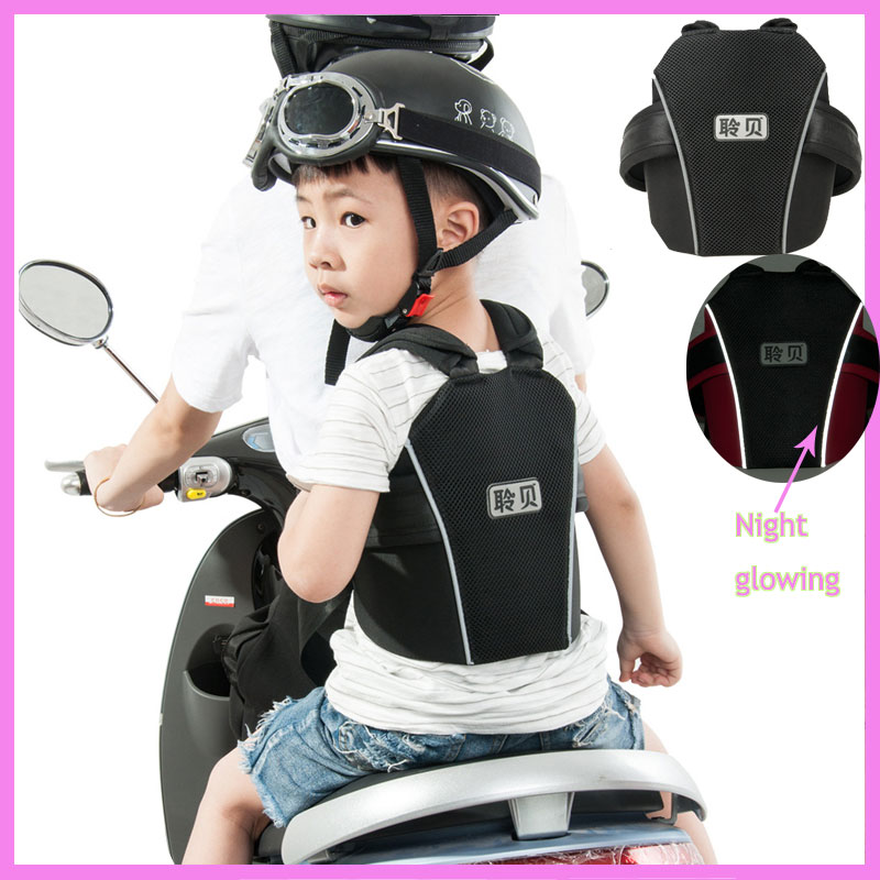 Quality Children Baby Kids Motorcycle Safety Vest Belt Carrier Electric Vehicle Bike Bicycle Child Safety Belt