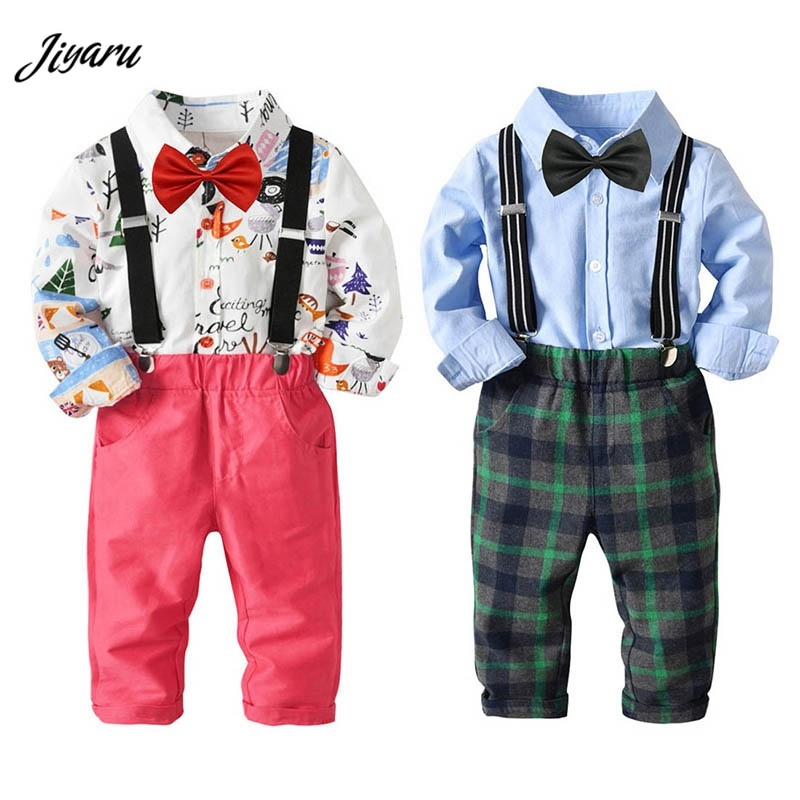 2018 Fashion Boys Suits Blazers Baby Boy Wedding Suits Sets Formal Baptism Boy Clothing Sets Party Christening Clothes Adidaa student performance clothes children clothing sets boys blazers wedding sets pieces boys tuxedo suits