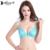 Annajolly mulheres push up bras sexy top de renda bordado sutiã ajustável underwear lingerie azul branco vermelho frete grátis 8385