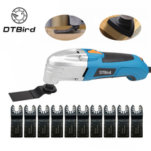 цена на 220V Variable Speed Electric Multifunction Oscillating Tool Kit Multi-Tool Power Tool Electric Trimmer And Saw Blade Accessories