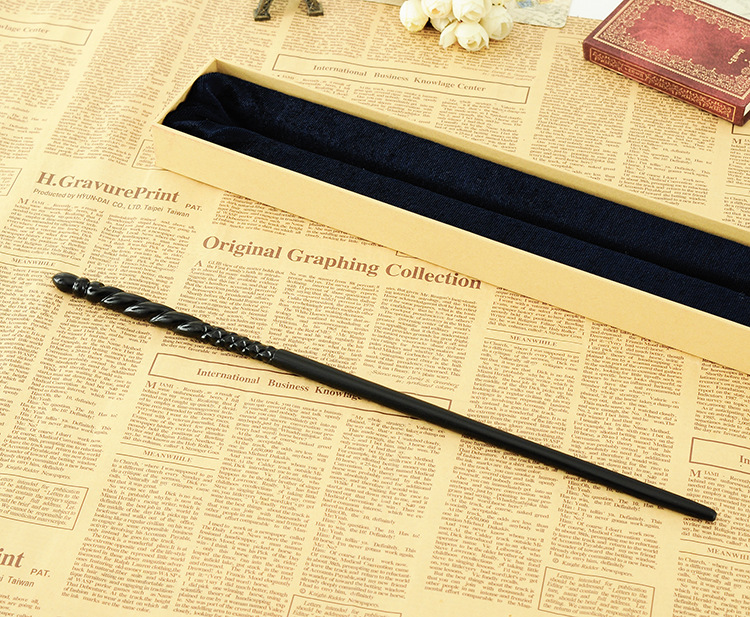 Newest Metal Core Newest Deluxe di qualità Harry Potter COS Ginny Weasley Magic Wands / Stick con confezione regalo