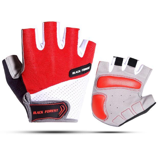 X-CQREG Cycling Gloves Men Women MTB Road Bicycle Gloves Half Finger Pro Gel Padded DH Black Bike Gloves Guantes Luvas Ciclismo