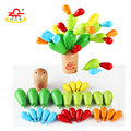 Children Preschool Cactus Fight Inserted Removable Wooden Building Blocks Children's Educational Toys Gifts