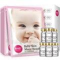 Baby Facial Mask 6pcs + Baby Face Essence 6pcs Moisturizing Whitening Acne Treatment Anti-Aging Beauty Cosmetics Sets Skin Care